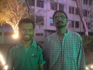 Riju and Naveen Padmanabh-our organisers