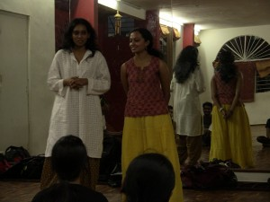 Devi Aithal - Sharing her experiences with Nritarutya