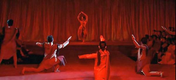 "A shot from the ""Swayamvara"" Scene"